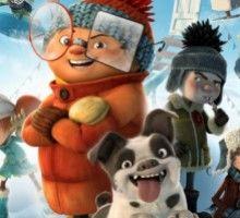 Мультфильм «Снежные гонки»