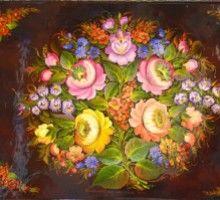 Выставка Жанны Овчинниковой «Я творчеством живу…»
