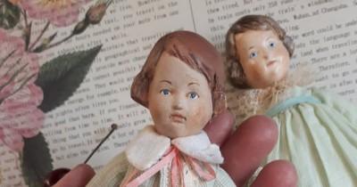 Мастер-класс «Куколка в антикварном стиле»