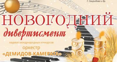 Концерт «Новогодний дивертисмент»
