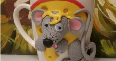 Мастер-класс «Кружка-мышка»
