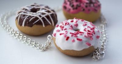 Мастер-класс «Пончики из полимерной глины»