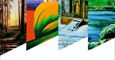 Выставка «Пейзаж на зеркале подноса»