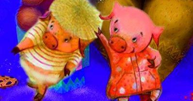 Новогодняя сказка «Три пороsёнка»
