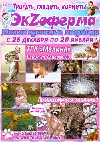 Выставка животных «ЭкZоферма»