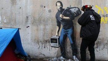 В Москве пройдёт выставка уличного художника Бэнкси