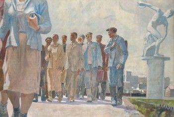 Картину советского художника Дейнеки продали за 2,2 млн фунтов на аукционе в Лондоне