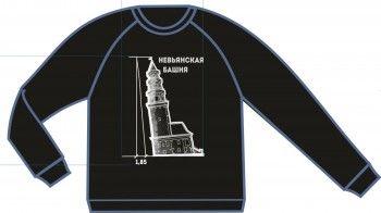 Невьянская башня и ирбитский мотоцикл стали принтами для новой дизайнерской линии одежды