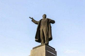 Власти Екатеринбурга уберут памятник Ленину с площади 1905 года