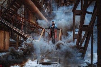Тагильский музей-завод стал декорацией для постапокалиптической фотосессии