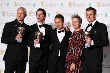Фильм «Три билборда на границе Эббинга, Миссури» собрал главные награды Британской киноакадемии