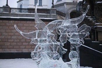 Тагильских скульпторов наградили за ледовые шедевры
