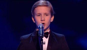 11-летний россиянин покорил жюри британского шоу «Голос»