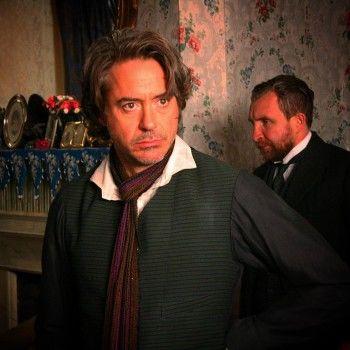 Железный человек готовится к съёмкам третьего «Шерлока Холмса»