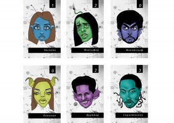 Хайпить и деградировать. Дизайнер из Екатеринбурга создала настольную игру с карикатурами на Дудя, Фейса и Дурова