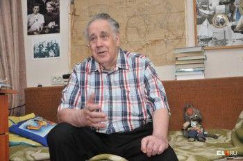 Детского писателя Владислава Крапивина наградили за заслуги перед Свердловской областью