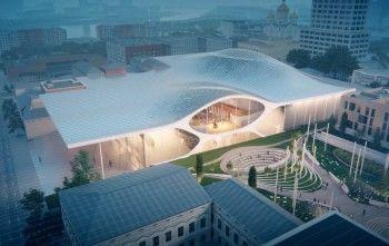 Бюро Захи Хадид показало видео проекта нового здания свердловской филармонии