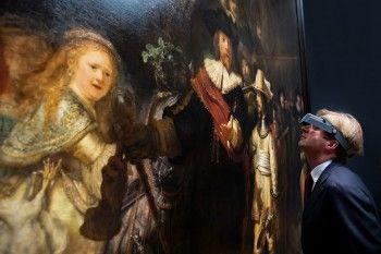 Реставрацию картины Рембрандта «Ночной дозор» будут транслировать в интернете