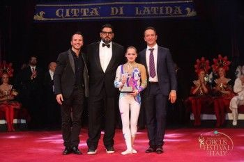 Гимнастка цирка «Аншлаг» взяла серебро международного конкурса в Италии