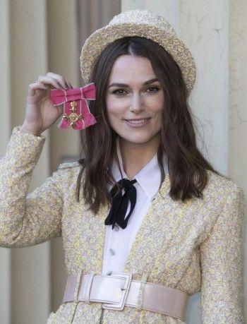 Кира Найтли стала офицером Ордена Британской империи