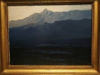 Украденная картина Куинджи вернулась на выставку в Третьяковскую галерею