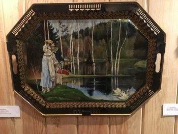 В Нижнем Тагиле открылась выставка лаковой росписи, посвящённая сказам Бажова