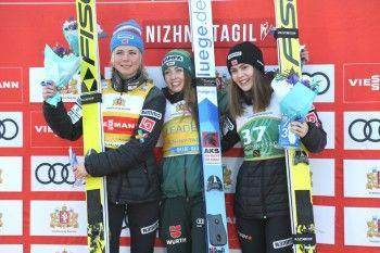 На Кубке мира в Нижнем Тагиле лучшей летающей лыжницей стала немка