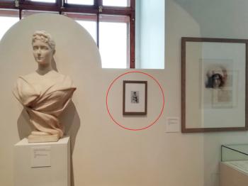 Неизвестные акционисты разместили в Историческом музее фальшивый экспонат