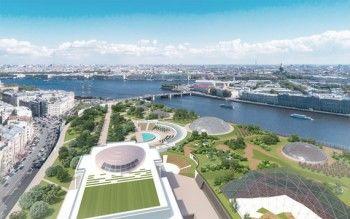 В Петербурге на берегу Невы появится новое «Зарядье»