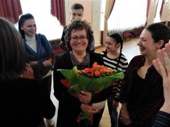 Разговор по душам. Гастроли Свердловской музкомедии открылись творческой встречей с народной артисткой Галиной Петровой