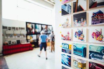 В нижнетагильской библиотеке № 7 откроется галерея современного искусства