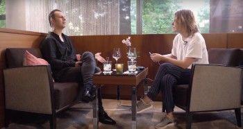 Ксения Собчак взяла интервью у знаменитого дирижёра Теодора Курентзиса