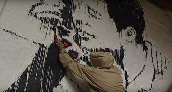 Британские журналисты нашли архивное видеоинтервью с художником Бэнкси
