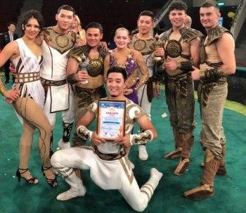 Эквилибристка из Нижнего Тагила завоевала золото международного фестиваля «Эхо Азии»