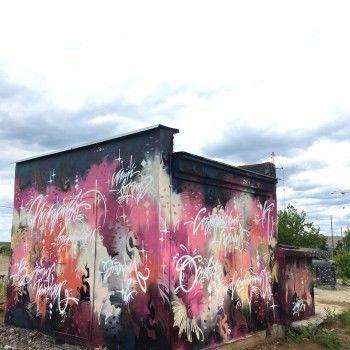Уличный художник Денис Благо ищет помощников для росписи трансформаторной будки на Гальянке