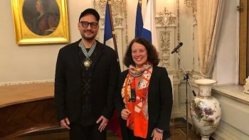 Кирилл Серебренников получил французский орден Искусств и Литературы