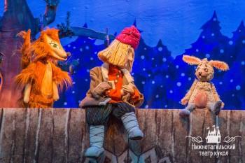 В театре кукол Нижнего Тагила состоялась премьера новогоднего спектакля «По щучьему велению»