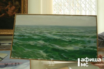 В музее искусств Нижнего Тагила впервые покажут «морскую» коллекцию Игоря Рубана