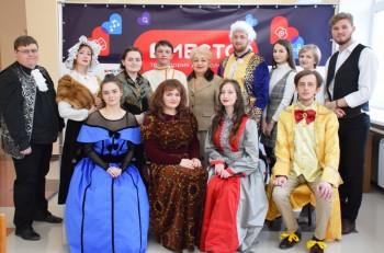 В Центральной библиотеке прошла премьера спектакля по мотивам комедии Дениса Фонвизина
