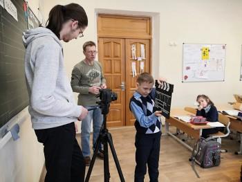 Воспитанники киностудии ГДДЮТ приступили к  монтажу новой короткометражки