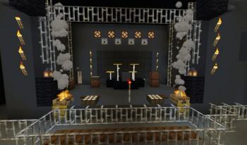 Екатеринбурская рок-группа построила сцену Tele-club в игре Minecraft