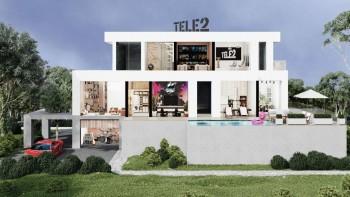 Tele2 создал онлайн-пространство «Дом по другим правилам» с выставочным залом, баром и кинотеатром