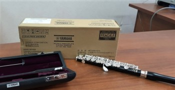 В филармонию Нижнего Тагила прибыла новая флейта-пикколо из Японии
