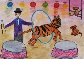 Росгосцирк опубликует книгу детских рисунков и подарит их авторам билеты на представления