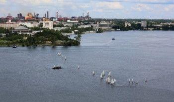 Уральские яхтсмены испытают тагильский ветер на соревнованиях по парусной регате