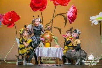 В Театре кукол выбрали лучших артистов-дошкольников