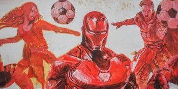 Граффити художника из Аргентины украсили Москву к Чемпионату мира по футболу