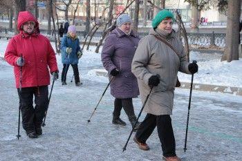 Первый фестиваль скандинавской ходьбы в Нижнем Тагиле
