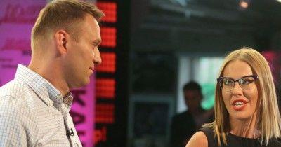 Собчак в эфире Первого канала заявила о необходимости допустить Навального к выборам
