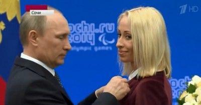 Путин вручил паралимпийской чемпионке из Нижнего Тагила Орден почёта